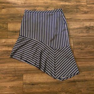 Banana Republic Satin Asymmetric Skirt! NWOT'